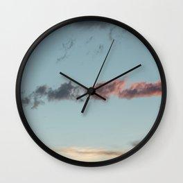 Say more | sky photography Wall Clock