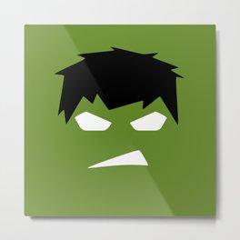The Hulk Superhero Metal Print