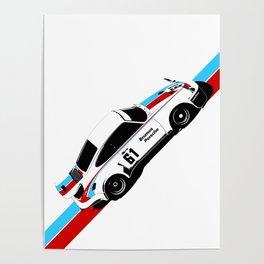 I AM LEGEND - 911RSR BRUMOS Poster