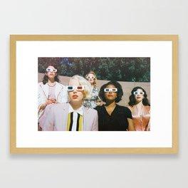 Stereoscopic Framed Art Print