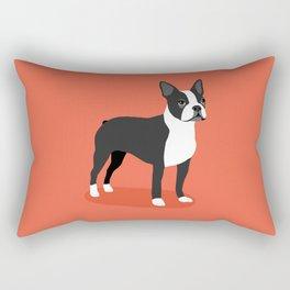 Boston Terrier 2 Rectangular Pillow
