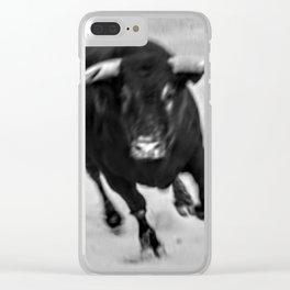 Toro! Toro! Clear iPhone Case