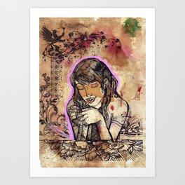 Ciana Art Print