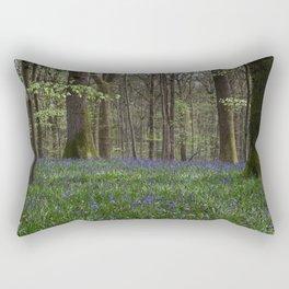 Soudley Bluebell Woods Rectangular Pillow