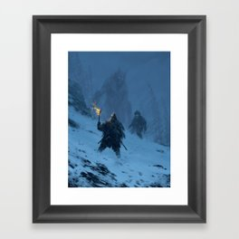 I think we found Björn! Framed Art Print