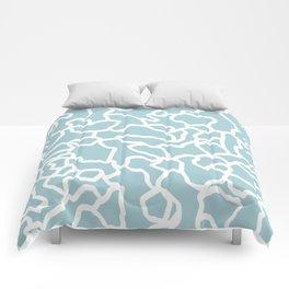 abstract siluet Comforters