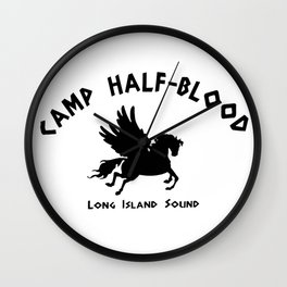 Camp Half-Blood Wall Clock