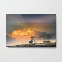 Old Copper Mine on Anglesey Metal Print