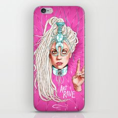 Take Me To Your Planet iPhone & iPod Skin