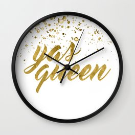 Yas Queen Wall Clock