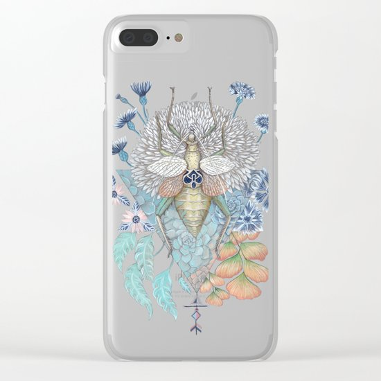 Beetle Clear iPhone Case