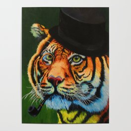 The Tiger Baron Poster