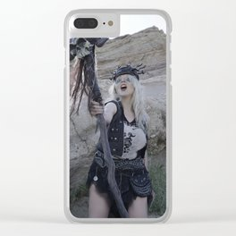 Witchdoctor Warzone Clear iPhone Case