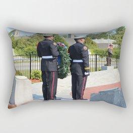 9 11 Memorial Service Rectangular Pillow