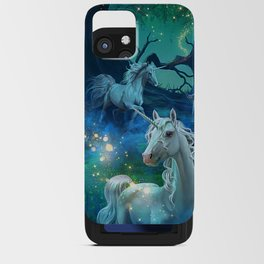 Bright of the Moon iPhone Card Case