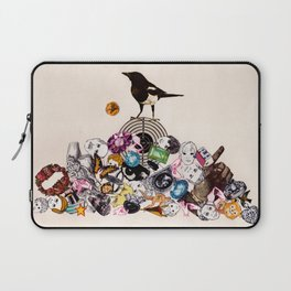 Magpie collector collage Laptop Sleeve