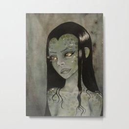Swamp Woman Metal Print