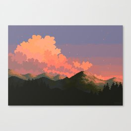 19:37:12 Canvas Print