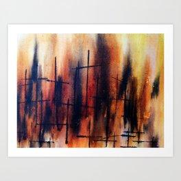 Las Cruces Art Print