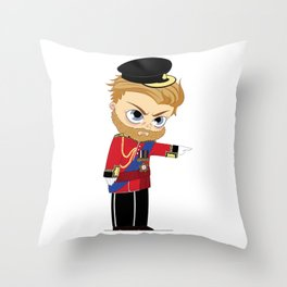 Richard III Throw Pillow