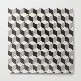 Geometric Pattern #195 Metal Print
