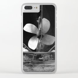 Shipyard Boat IV Clear iPhone Case