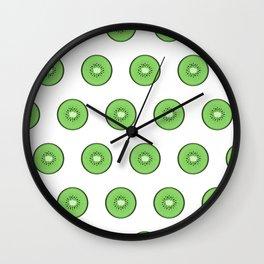 Kiwis for KL Wall Clock