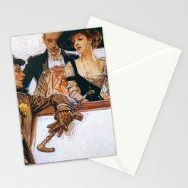 12,000pixel-500dpi - Joseph Christian Leyendecker - Arrow Color - Digital Remastered Edition Stationery Cards
