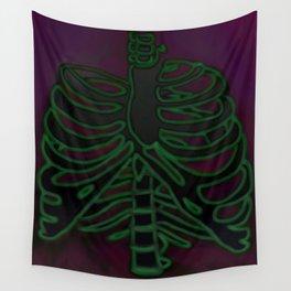 Negative Skeletal Wall Tapestry
