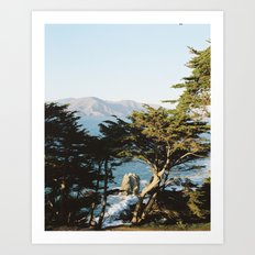 Lands End Art Print