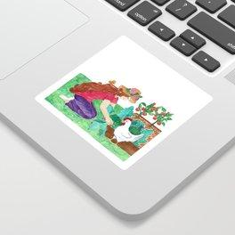 Luci an Susie - Homegrown Heaven Sticker