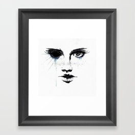 Awake - Face No.1 Framed Art Print