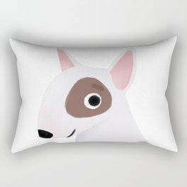 Bull Terrier - Cute Dog Series Rectangular Pillow