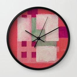 Urban Intersections 3 Wall Clock