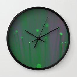 Bokeh 1 Wall Clock