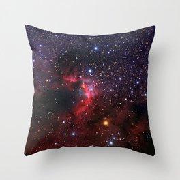 Cave Nebula Throw Pillow