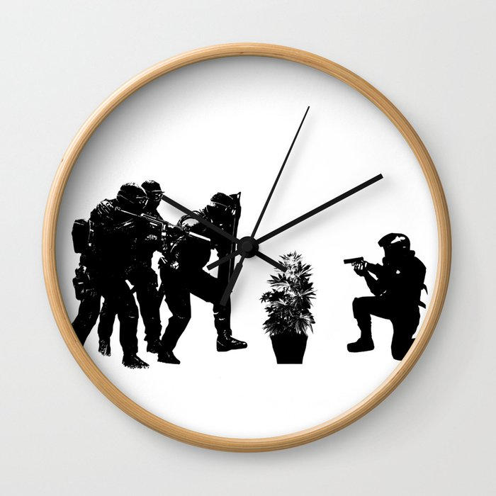 Police brutality coming up Wall Clock