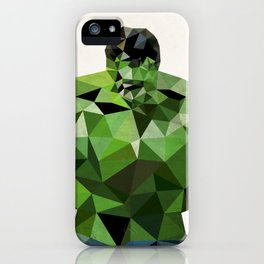 Polygon Heroes - Hulk iPhone Case