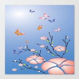 Art Flowers V16 Canvas Print
