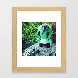 Six Pack Framed Art Print