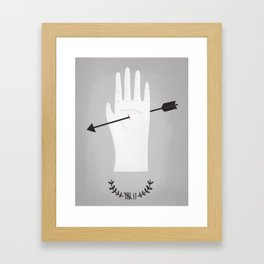 high stake games.  Framed Art Print