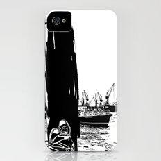 hamburg fischmarkt iPhone (4, 4s) Slim Case