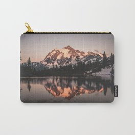 Alpenglow - Mountain Reflection - Nature Photography Carry-All Pouch