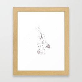 Unicorn Horn  Framed Art Print