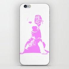 A mans best friend iPhone & iPod Skin