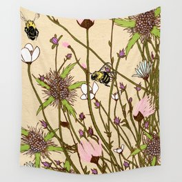 Wild Flowers Part 2 Wall Tapestry