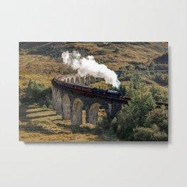 The Hogwarts Express Metal Print