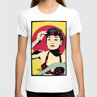 audrey T-shirts featuring Audrey by Vee Ladwa