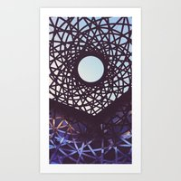 aperture Art Prints featuring Aperture by Florian Wille Design