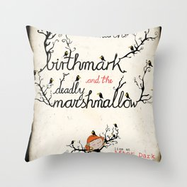daphne's metamorphosis Throw Pillow